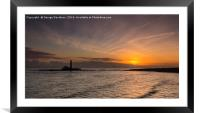 Here to Greet the Dawn, Framed Mounted Print