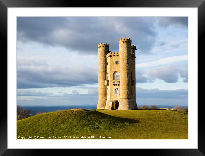 Buy Framed Mounted Prints of Broadway Tower by Daugirdas Racys