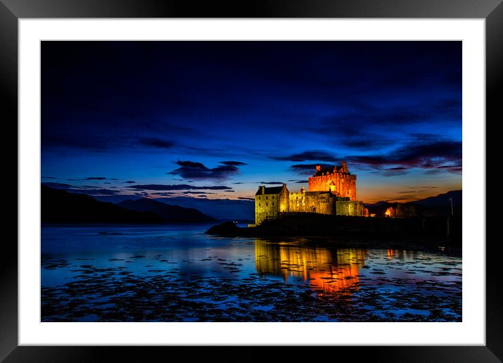 Buy Framed Mounted Prints of Eilean Donan Castle by John Frid