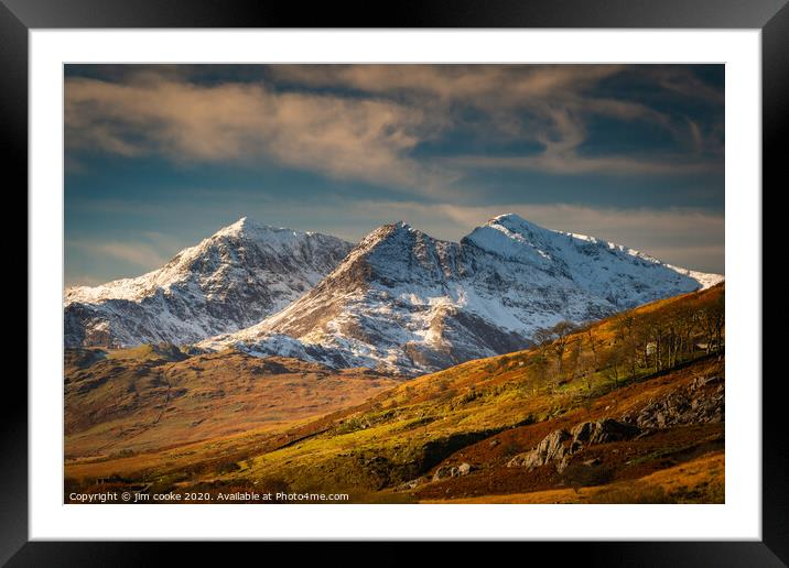 Buy Framed Mounted Prints of Snowdonia by jim cooke