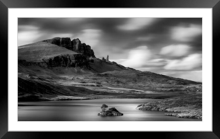 Buy Framed Mounted Prints of Loch Fada- The Storr by Grant Glendinning