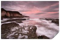 Thornwick Bay Sunrise 1, Print