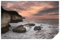 Thornwick Bay Sunrise 2, Print