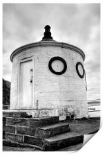 Whitby Harbour, Round House, Print