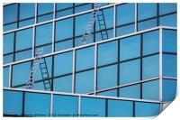 Windows and Ladders, Print