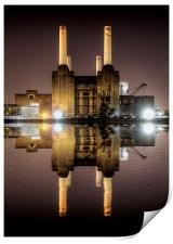 Battersea Power Station, Print