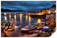Tenby Harbour High Tide, Print