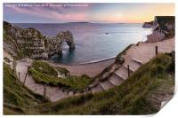 Path to Durdle Door, Print