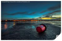 Ryde Sands at Night, Print