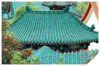 Temple Roofs, Print