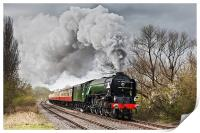 Tornado storming through the Nene Valley, Print
