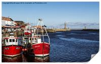 Whitby Fish Quay, Print