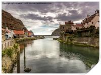 Staithes Harbour, Print