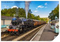 Leaving Grosmont Station, Print
