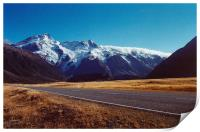 Mount Cook, South Island, New Zealand, Print