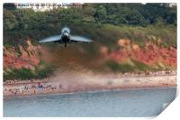 Eurofighter Typhoon - Fast and Low, Print
