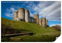 Kidwelly Castle South Wales, Print