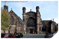 Art work of Chester Cathedral, Print