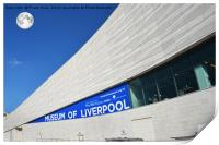 The Museum of Liverpool, Pier Head., Print