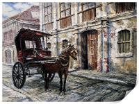 Red Carriage, Print