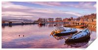 bowling harbour panorama 02, Print