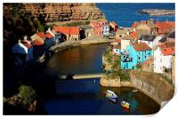 Picturesque Staithes, Print