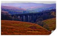 Denthead Viaduct. Yorkshire Dales, Print