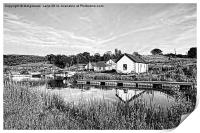Forth and Clyde Canal, Scotland, Print