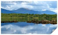The tranquil Loch Lommond, Print