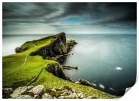 40 Seconds at Neist Point, Print