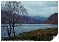 """""""Storm clouds at Ennerdale Water"""", Print"""