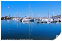 Whitehaven Harbour and Marina, Print