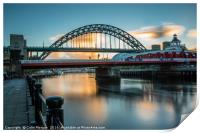 Tyne Sunrise, Print