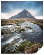 """River Coupall & The """"Buckle"""", Print"""