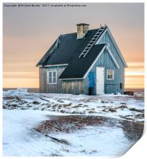 The Blue House at Rodebay, Print