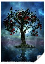 The Tree that Wept a Lake of Tears, Print