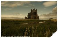 The Gothic Beauty Of Whitby Abbey, Print