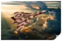 2015 The Last Tour of XH558, Print