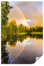 Rainbows: The gift from heaven to us all, Print