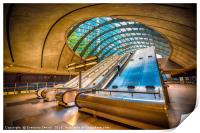 Architecture of Canary Wharf, Print