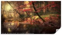 Dreamy Autumn Forest, Print