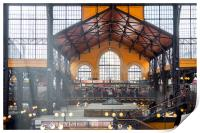 The Great Market Hall, Print