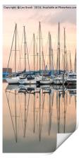 Evening at Shoreham Yacht Club, Print