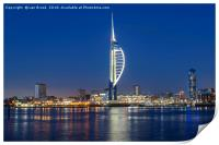 Portsmouth Harbour and The Spinnaker Tower, Print
