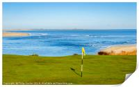 Paradise by the Golf Course, Print