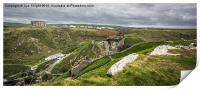 View from Tintagel Castle,Cornwall, Print