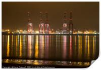 Liverpool 2 Container Terminal , Print