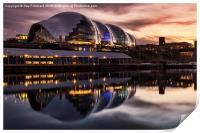 The Sage in Gateshead, Print