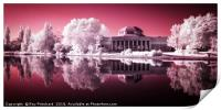 Infrared Wylam Brewery, Print