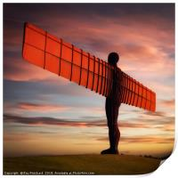 Angel of the North Artwork     , Print
